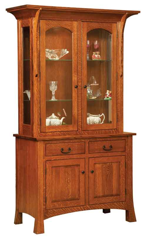 Amish Breckenridge China Cabinet